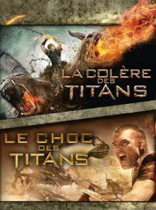 Pack les titans (le choc des titans et la colère des titans)