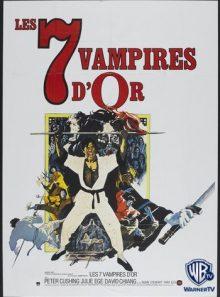 Les sept vampires d'or