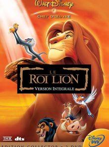 Le roi lion - édition collector limitée