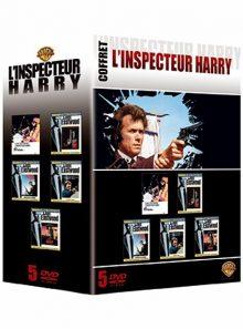 L'inspecteur harry - l'intégrale - l'inspecteur harry, l'inspecteur ne renonce jamais, magnum force, sudden impact : le retour de l'inspecteur harry, l'inspecteur harry est la dernière cible