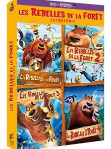 Les rebelles de la forêt - tetralogie - dvd + copie digitale