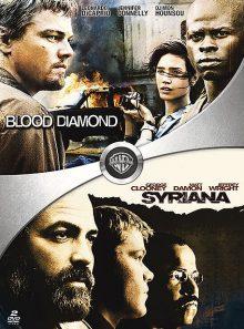 Blood diamond + syriana