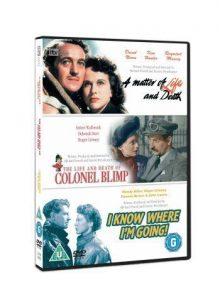Classic films triple - the life and death of colonel blimp/a matter of life and death/i know where i'm going