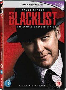 The blacklist - season 2 [dvd]