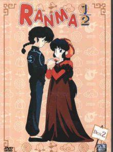 Ranma 1/2 box 2 - 4 dvd - episodes 29 a 56