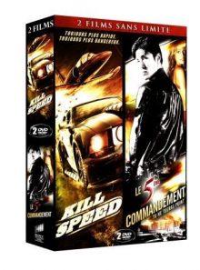 2 films sans limite : kill speed + le 5ème commandement - pack