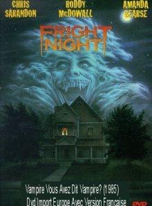 Vampire vous avez dit vampire? (1985) dvd import europe avec version française
