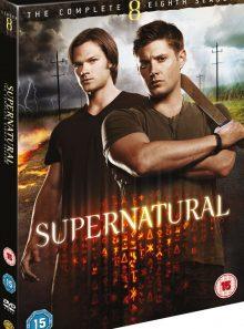Supernatural - saison 8 - import uk avec audio français