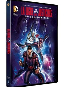 Les aventures de la ligue des justiciers - dieux et monstres