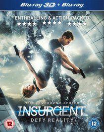Insurgent [blu-ray 3d + blu-ray] [region free]