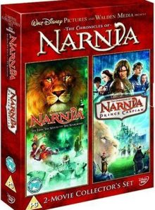 Chronicles of narnia - the lion, the witch and the wardrobe/prince caspian (import) (coffret de 2 dvd)