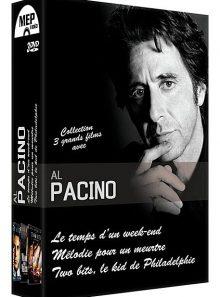 Al pacino - coffret 3 films : le temps d'un week-end + sea of love - mélodie pour un meurtre + le kid de philadelphie - pack