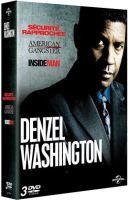 Denzel washington - coffret - sécurité rapprochée + american gangster + inside man - pack