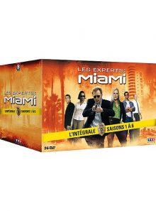 Les experts : miami - l'intégrale des saisons 1 à 6 - pack