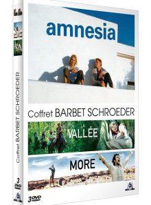Coffret barbet schroeder : amnesia + more + la vallée