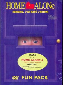 Home alone (pack 4 dvd) - maman,j'ai raté l'avion