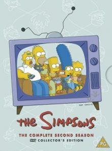 The simpsons - series 2 - complete (import) (coffret de 4 dvd)