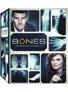 Bones - intégrale des saisons 1 à 6 - édition limitée