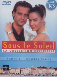 Sous le soleil n° 8 - saison 1 - episodes 29 à 32