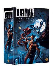 Batman héritage : le fils de batman + batman vs robin + mauvais sang + red hood : sous le masque rouge - pack