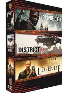 Le livre d'eli + district 9 + je suis une légende - pack