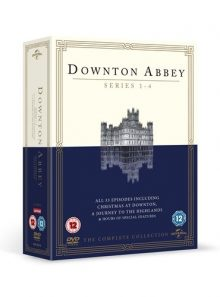 Downton abbey the complete seasons 1-4 uk import