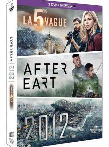 La 5e vague + after earth + 2012 - dvd + copie digitale