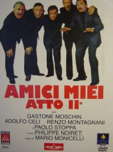 Amici miei atto ii / all my friends part 2 (dvd) italian import
