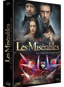 Les misérables - le film + la comédie musicale - pack