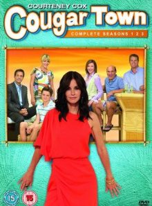 Cougar town - seasons 1-3 dvd - import anglais
