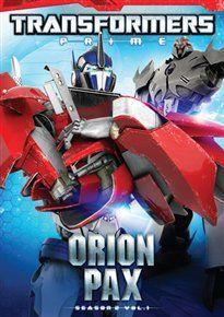 Transformers - prime: season two - orion pax