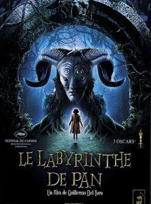 Le labyrinthe de pan - edition belge