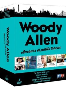 Woody allen - amours et petits tracas : to rome with love + minuit à paris + magic in the moonlight + blue jasmine + l'homme irrationnel - pack