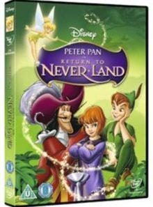 Peter pan: return to never land (disney)
