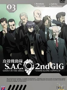 Ghost in the shell - stand alone complex 2nd gig - vol. 03