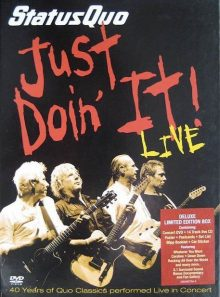 Status quo - just doin' it! live - édition collector