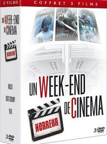 Coffret un week-end de cinéma - horreur - pack