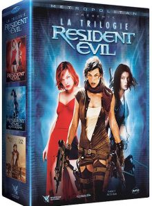 Resident evil : la trilogie : resident evil + resident evil : apocalypse + resident evil : extinction - pack