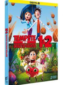 Tempête de boulettes géantes 1 & 2 - dvd + copie digitale