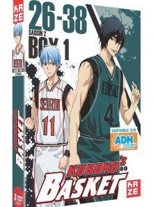 Kuroko's basket - saison 2, box 1/2