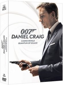 James bond : casino royale + quantum of solace - pack