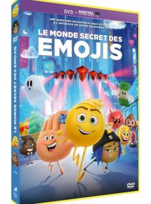 Le monde secret des emojis - dvd + digital ultraviolet