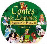 Contes et legendes d andersen et perrault volume 1 - ( valisette en metal - 10 dvd )