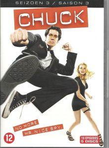 Chuck saison 3 - dvd import pays-bas