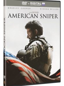 American sniper - dvd + copie digitale