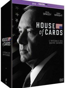 House of cards - intégrale saisons 1-2-3-4 - dvd + copie digitale