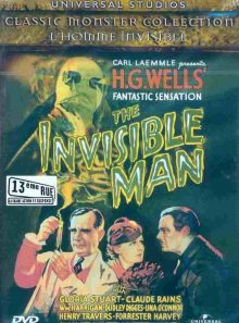 L'homme invisible - edition belge