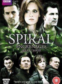 Spiral (series 3) 3 dvd set ( engrenages )