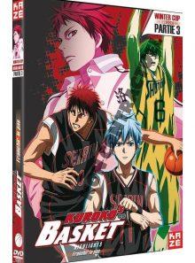 Kuroko's basket - winter cup highlights partie 3 : franchir le pas