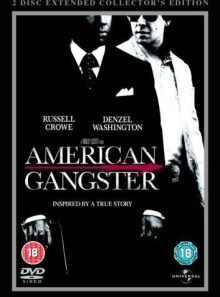American gangster - 2 disc extended collector's edition steel book